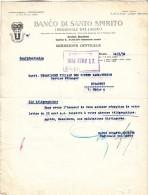 Banco Di Santo Spirito,Document 1934 Roma - Italia