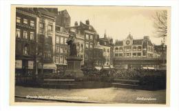 ROTTERDAM - PAYS BAS - NEDERLAND - THE NETHERLANDS - GROOTE MARKT M/ ERASMUSSTANDBEELD - Rotterdam