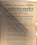 Liederen Reeks Tweede Wereldoorlog : WW2  1940-1945 Door Volksspeler Joos David; O.a; Over Hitler En Zijn V1, Gestapo - Histoire