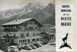 CPSM 74  LES HOUCHES HOTEL DE LA PISTE BLEUE   Grand Format 15 X 10,5 - Les Houches