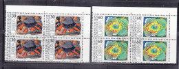 1975  N° 560 à 561    BLOCS  DE 4  OBLITERES                    CATALOGUE ZUMSTEIN - Liechtenstein