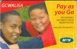 SWAZILAND - MTN Prepaid Card - Swaziland