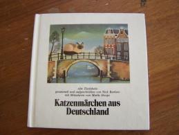KATZENMÄRCHEN AUS DEUTSCHLAND Alte Tierfabeln Nick Barkow Miniaturen Marlis Hoops 1982 HANSEATISCHE - Livres Pour Enfants