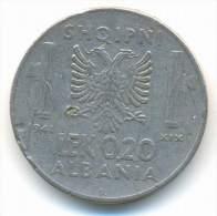 ALBANIA , 0,20  LEK 1941 R - Albania