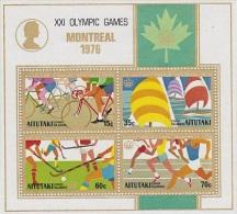Aitutaki-1976 Montreal Olympics MS MNH - Aitutaki