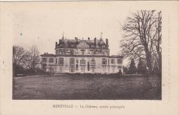 MEREVILLE (91) LE CHATEAU - ENTREE PRINCIPALE - Mereville