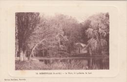 MEREVILLE (91) LE PARC, LA LAITERIE , LE LAC - Mereville