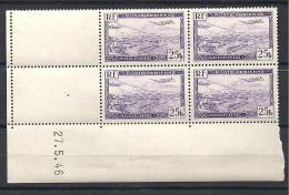 ALGERIE PA COIN DATE 1946 YVERT N � 5 NEUF** LUXE