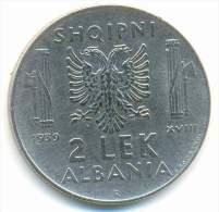 ALBANIA , 2 LEK 1939 R - Albanie
