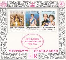 Bangladesh 1976 Silver Jubilee MS MNH - Bangladesh