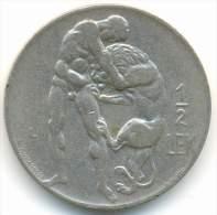 ALBANIA , 1/2 LEK 1931 L - Albania