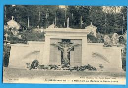 CP, 76, CAUDEBEC-en-CAUX, Le Monument Aux Morts De La Grande Guerre, Vierge - Caudebec-en-Caux