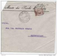 PUBBLICITARIA Siena X Montepulciano + Michetti - Storia Postale