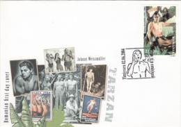 JOHNNY WEISSMULLER, ACTOR, TARZAN, SWIMMER, SPECIAL COVER, 2004, ROMANIA - Cinema