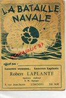 87 - LIMOGES - JEU DE LA BATAILLE NAVALE OFFERT PAR ROBERT LAPLANTE OPTICIEN 5 RUE JEAN JAURES - Alte Papiere