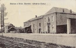 TOERNICH ..-- ARLON ..-- Arrêt Du TRAM . Cantine Militaire . 1907 Vers CHATELINEAU ( Mr A. CAMBIER , Curé ) . Voir Verso - Arlon