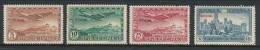"Spain 1931 Edifil # 630-633. Air Mail - Union Postal Iberoamericana,  ""OFICIAL"", MH (*) - 1931-50 Nuevos & Fijasellos"
