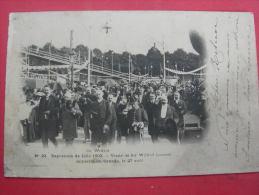 N°23 Exposition De Lille 1902 Visite De Sir Wilfrid Laurier - Lille