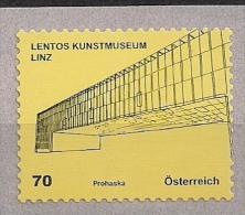 2011.05.01 Austria Mi. 2926**MNH   Lentos Kunstmuseum Linz  Folienstamp - 1945-.... 2ª República