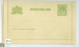 ONBESCHREVEN POSTBLAD *  VOORDRUK NVPH 57 (7844) - Period 1891-1948 (Wilhelmina)