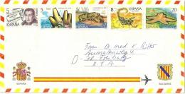 Spanien Spain Luftpostbrief 1979 Nach Deutschland 2456, 2531, 2532, 2533, 2534 - 1931-Hoy: 2ª República - ... Juan Carlos I