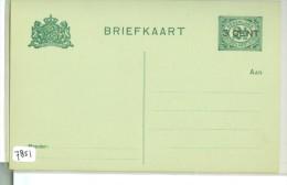 ONBESCHREVEN BRIEFKAART *  VOORDRUK NVPH 55  (7851) - Periode 1891-1948 (Wilhelmina)