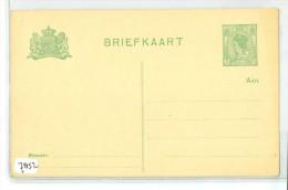 ONBESCHREVEN BRIEFKAART *  VOORDRUK NVPH 57  (7852) - Period 1891-1948 (Wilhelmina)