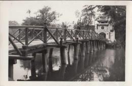 1950 HANOI - PONT SUR LE LAC - Viêt-Nam
