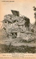 HERBECOURT(Somme)-1914-1918 - Maison Qui Avait été Transformé En Fortin.... - Zonder Classificatie