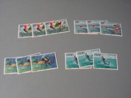 == St. BVincent Grenadines  1985   ** MNH  Lot  Fische, Boote Schiffe Wassersport  397-400 € 24,00 - St.Vincent Und Die Grenadinen