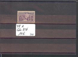 USA - No Michel 78  * ( AVEC  CHARNIERE  )    - COTE: 85 € - Unused Stamps