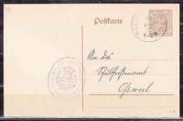 DP 44/05, Kameralamt Ludwigsburg, Nach Ossweil 1918 (41011) - Wuerttemberg