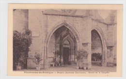 VILLEFRANCHE DE ROUERGUE - HOSPICE - ENTREE DE LA CHAPELLE - Villefranche De Rouergue