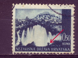 LANDSCAPES-JAJCE-0-50 K-WATERFALLS-ERROR-NDH-CROATIA-1941 - Croatia