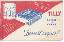 BUVARD - TILLY - Suisse Ou Carré - Produits Laitiers