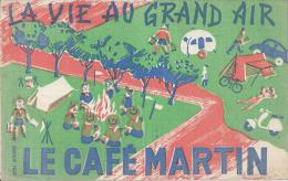 BUVARD - LE CAFE MARTIN - Café & Thé