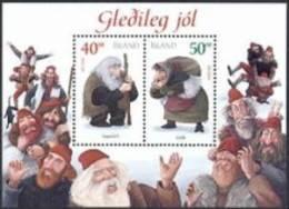 IJsland 2000 Blok Kerstzegels PF-MNH - 1944-... Republik