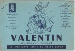 BUVARD - VALENTIN - Roi Des Caoutchoucs - Textile & Vestimentaire
