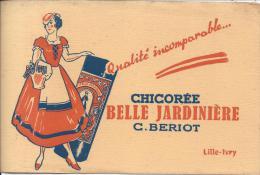 BUVARD - CHICOREE BELLE JARDINIERE C. BERIOT - Café & Thé