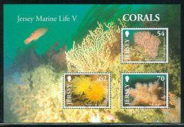 Jersey - 2004 Corals Block MNH__(THB-1157) - Jersey