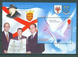 Jersey - 2005 Peace Dove Block MNH__(TH-7385) - Jersey