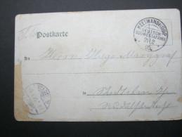 1905,KEETMANSHOOP, Feldpostkarte Mit Ansicht Nach Stadtilm - Colony: German South West Africa