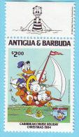 ANTIGUA BARBUDA NOEL  DONALD 1984  / MNH** / BJ 620 - Disney