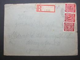 1946, SCHÖNHAGEN über Glöwen Auf Einschreiben - Sowjetische Zone (SBZ)