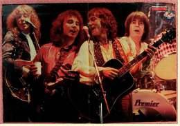 Kleines Musik Poster  -  Smokie  -  Rückseite : Gruppe Teens  -  Von Bravo Ca. 1978 - Plakate & Poster