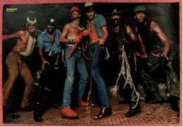 Kleines Musik Poster  -  Village People  -  Von Bravo Ca. 1982 - Plakate & Poster
