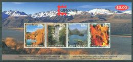 New Zealand - 1996 Landscapes Block MNH__(THB-267) - Hojas Bloque
