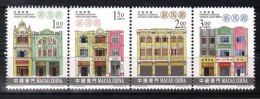Macau - 2000 Cultural Buildings MNH__(TH-3826) - 1999-... Chinese Admnistrative Region