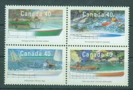 Canada - 1991 Boats MNH__(TH-3566) - 1952-.... Regno Di Elizabeth II