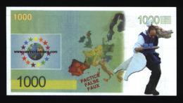 Billet De 1000 € Publicitaire - EURO